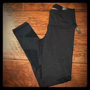 Mesh panel Victoria's Secret sports tights
